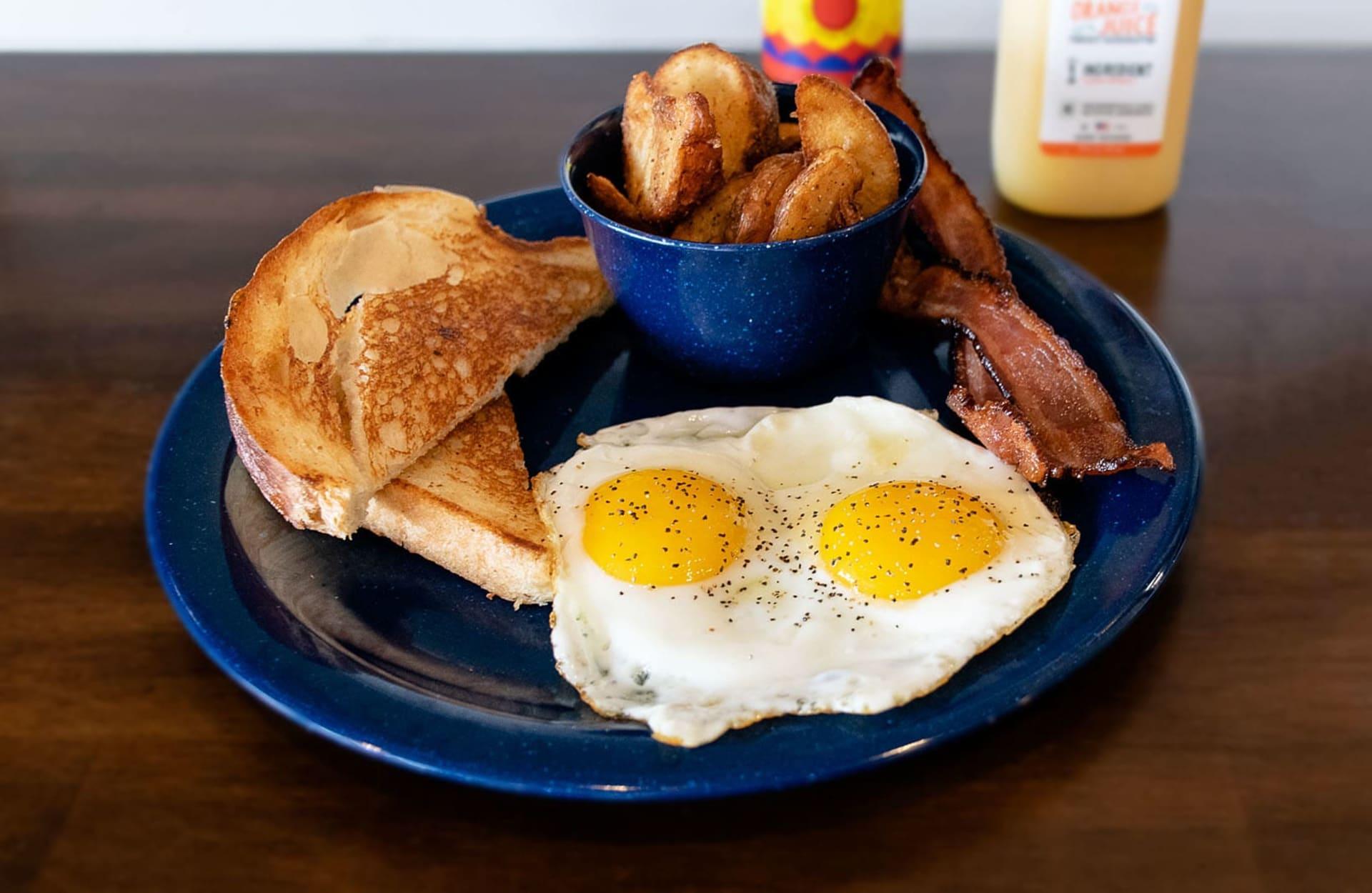 mountaintop breakfast