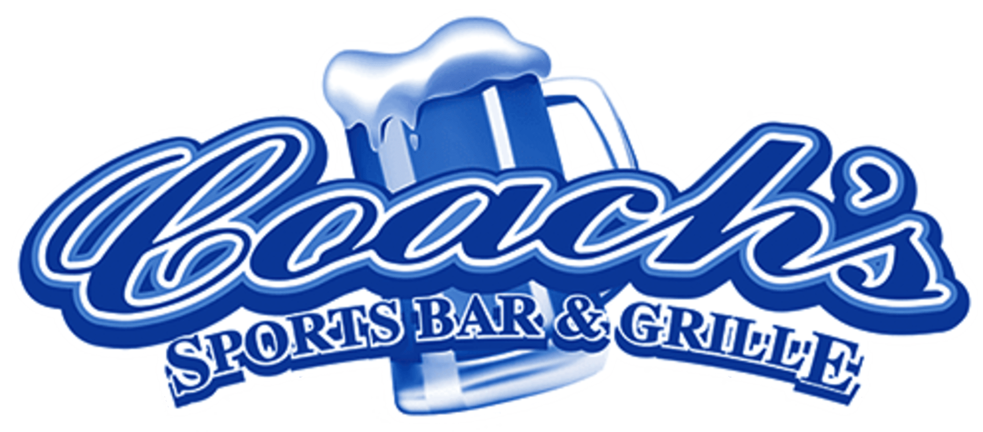 coach's sports bar and grill logo