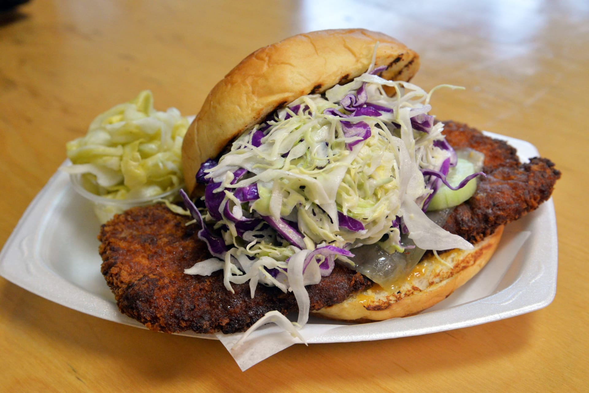 chicken katsu sandwich
