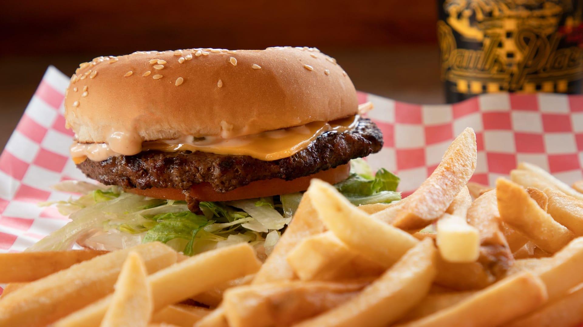 cheeseburger special