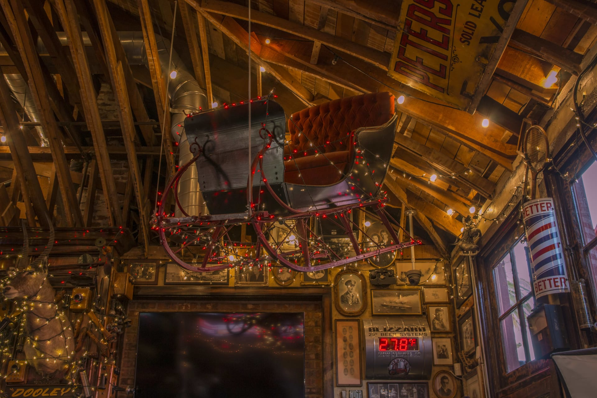 interior sleigh