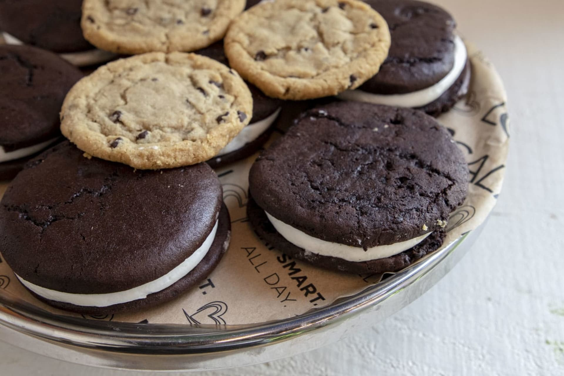 whoopie pies and cookies