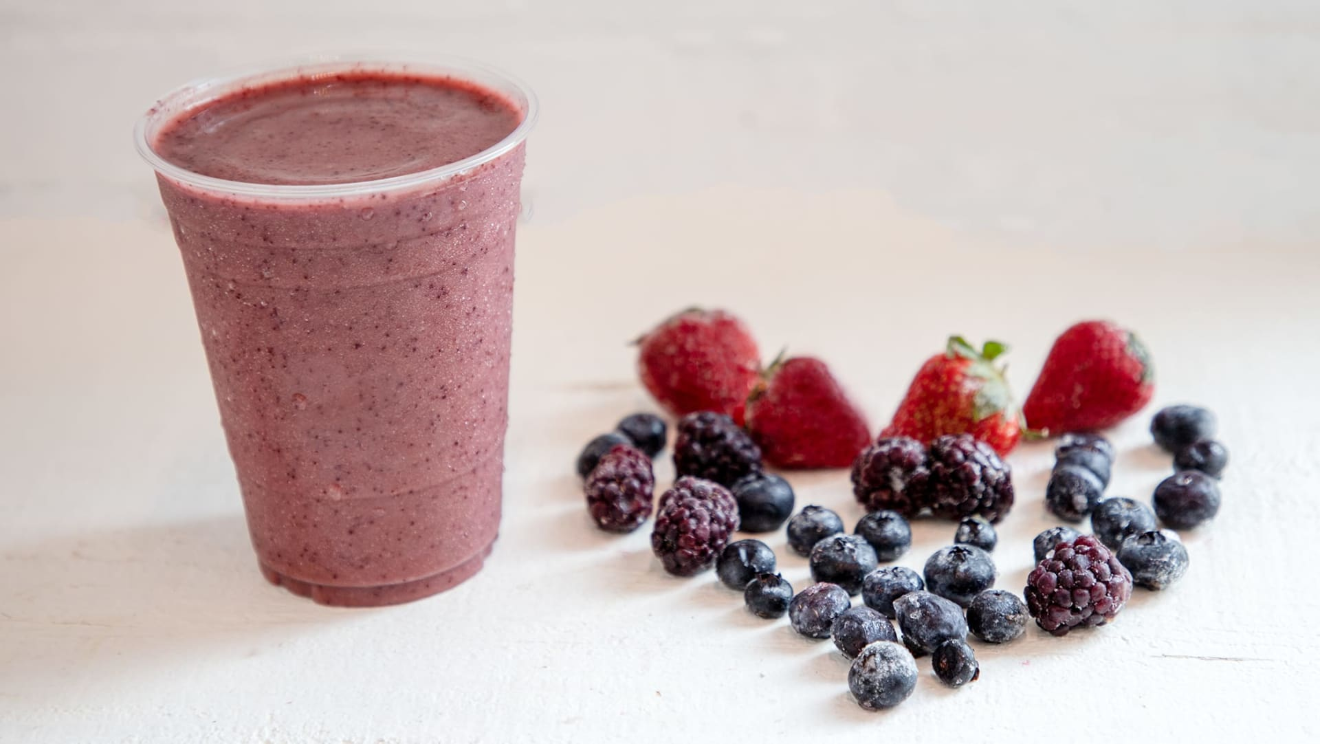 the berry good smoothie