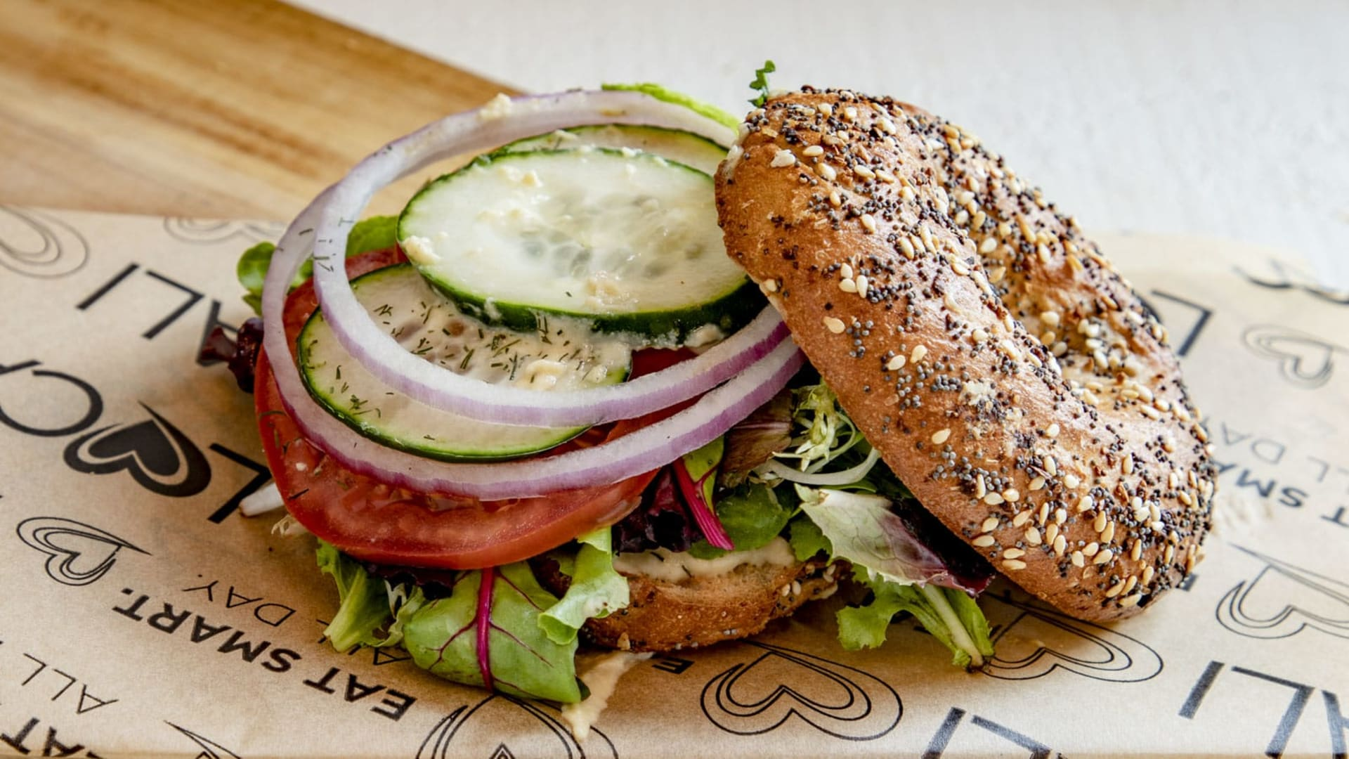 sprouted bagel