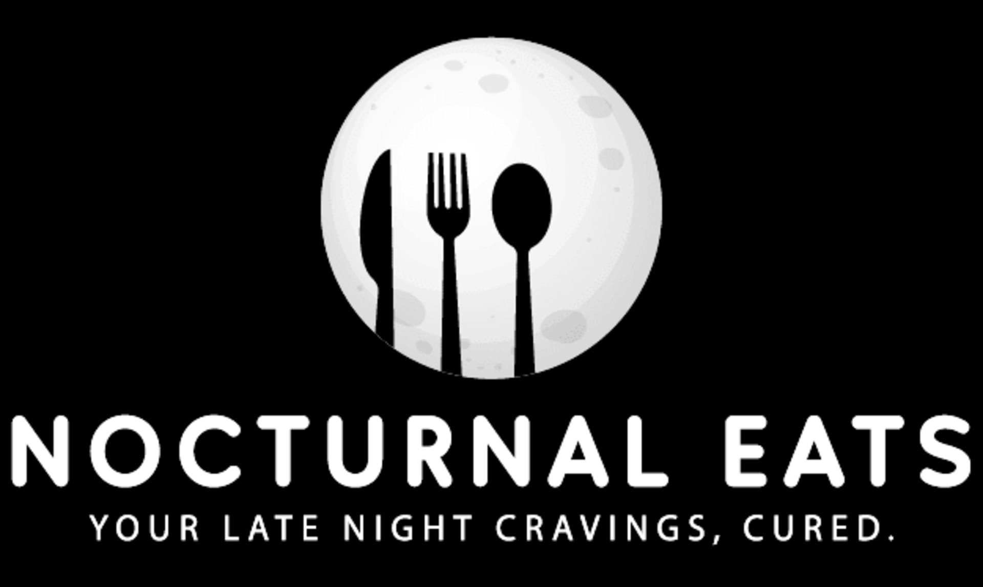 Nocturnal Eats - Your Late Night Cravings, Cured. Logo