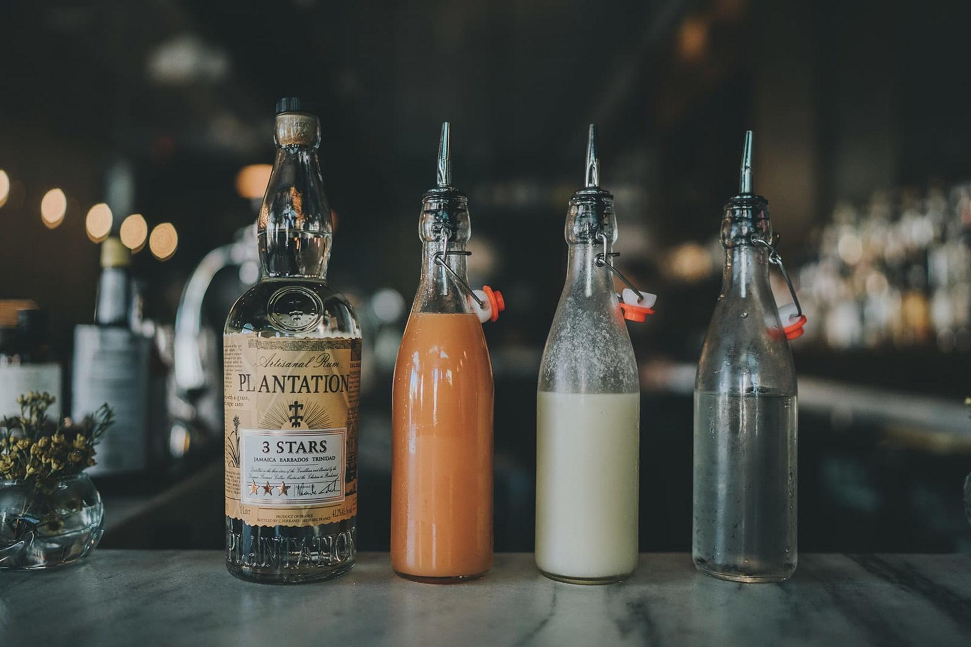 liquor and mixers