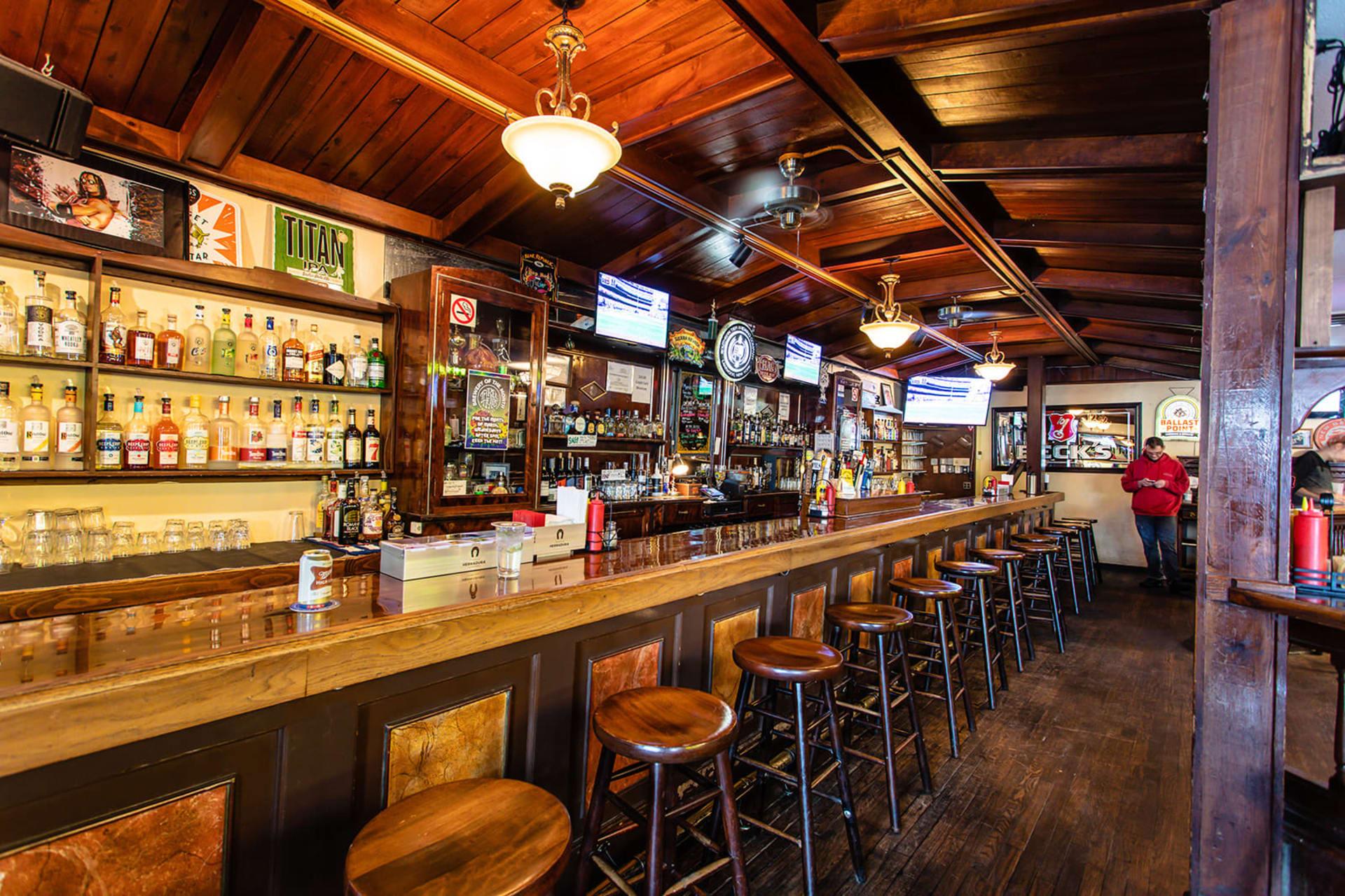 interior bar header