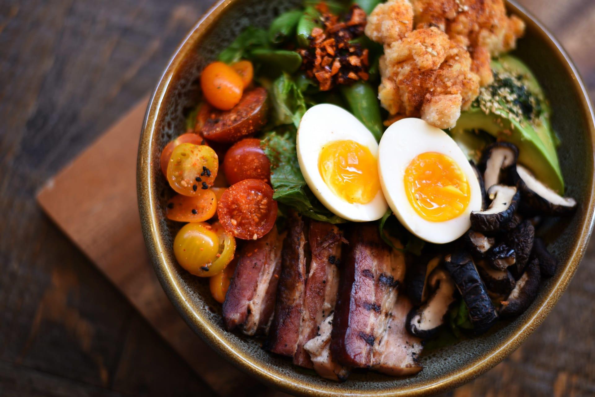 Miso Buttermilk Cobb Salad at SOCIAL