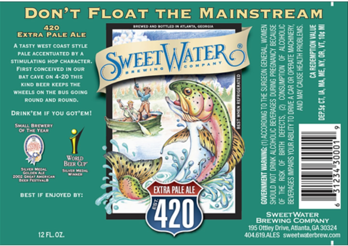 Sweetwater 420 Tall Boy