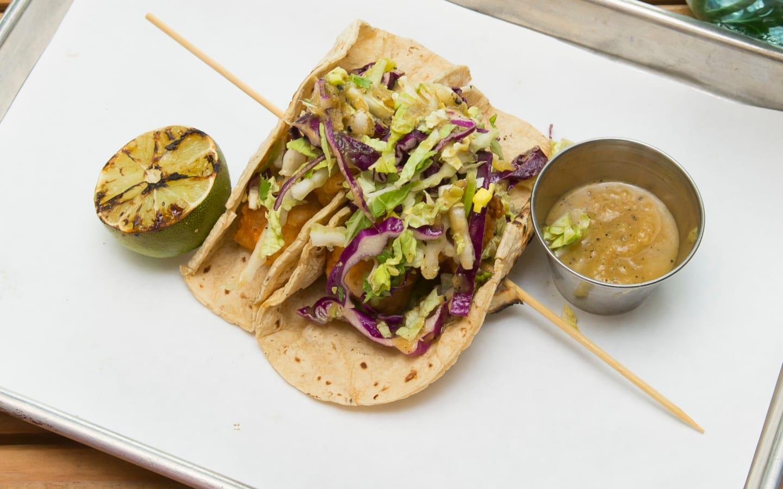 *Sol Mahi Tacos (2 ea)