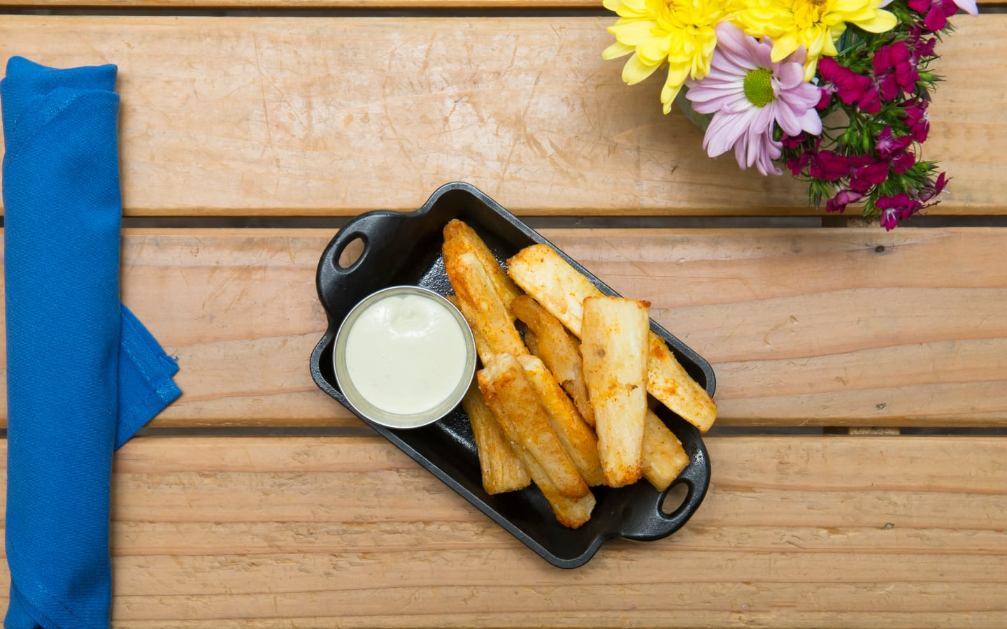 Yuca Fries, Avocado Aioli
