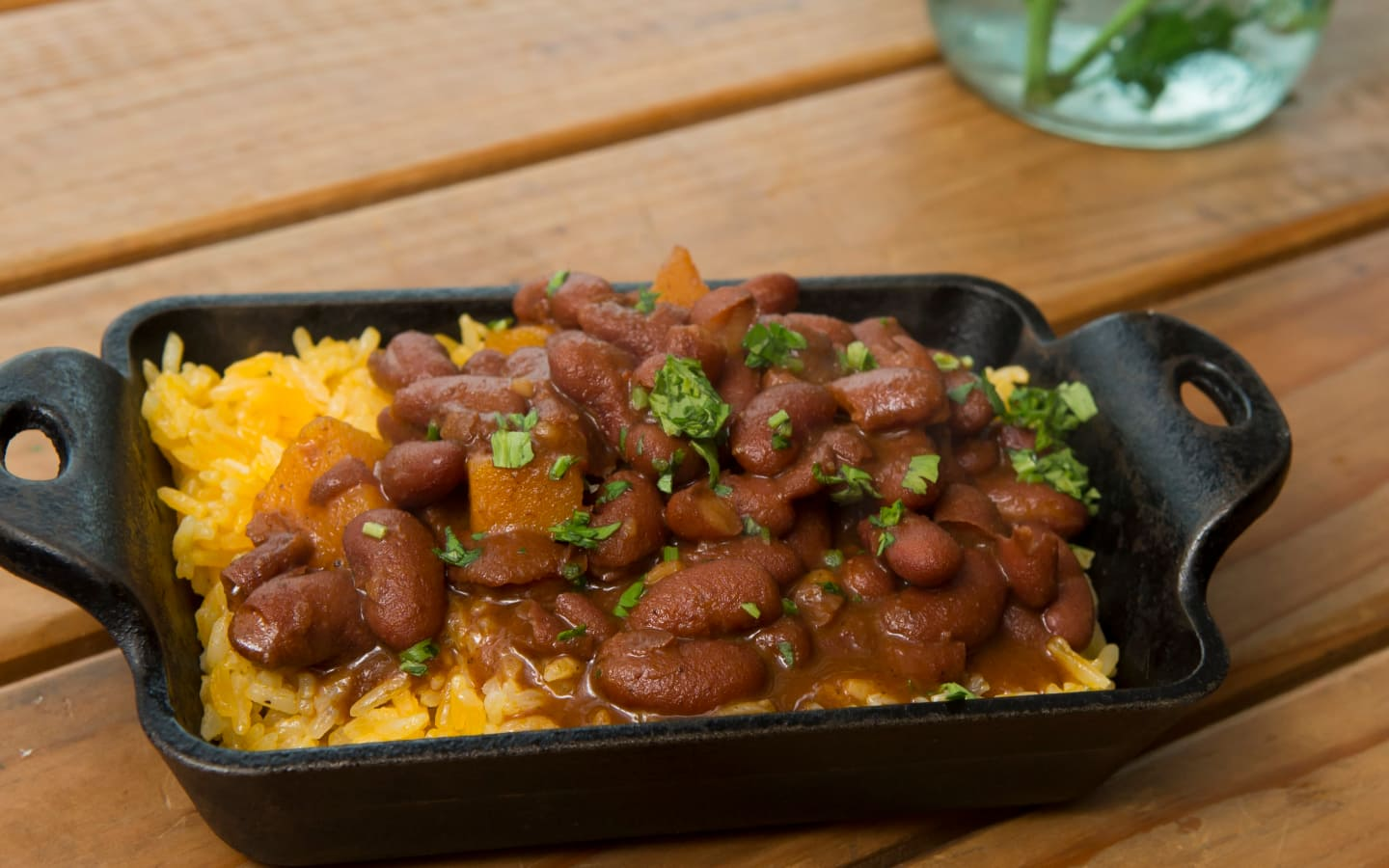 Finas Red Beans and Rice, Calabaza