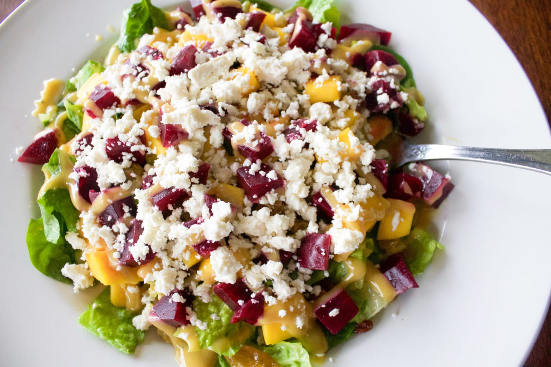 Mango Beet Salad