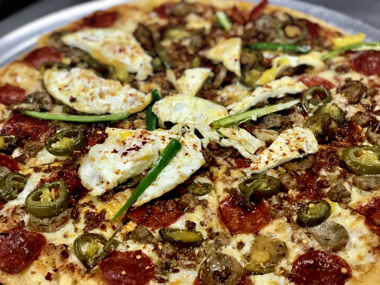 NEW!!! HANGOVER PIZZA