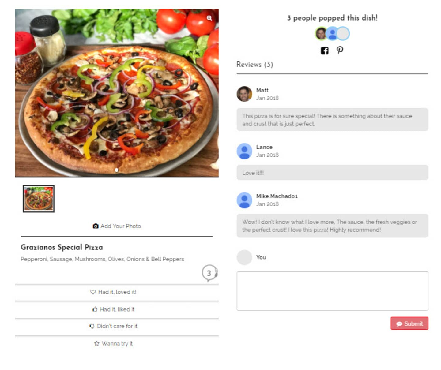 FREE $5 COUPON BY TRYING OUR NEW INTERACTIVE MENUS!  SIMPLY LEAVE A REVIEW!