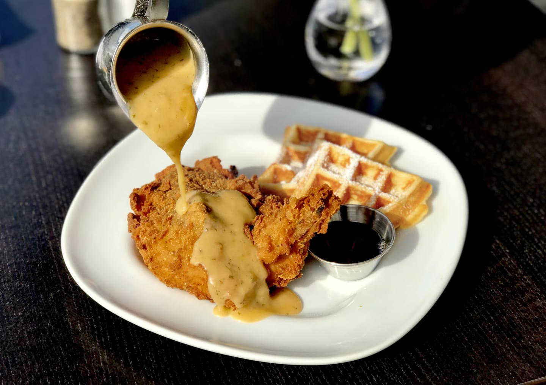 "Waffle Lady'sFried""Free Range""Chicken n'Waffles"