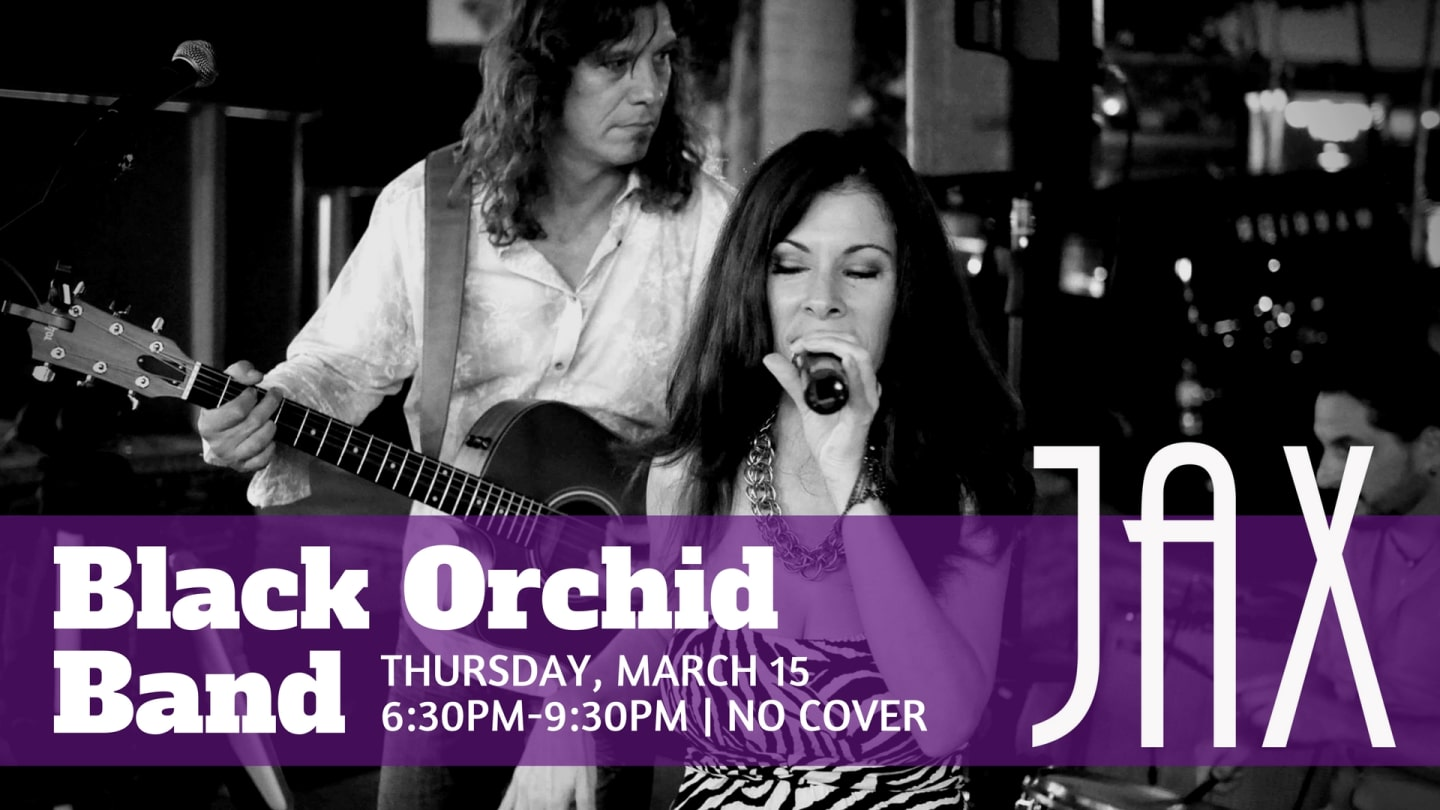 March 15 | BLACK ORCHID BAND