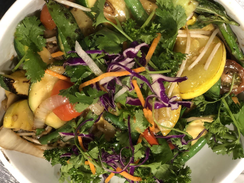 Stir Fried Vegetable TOFU