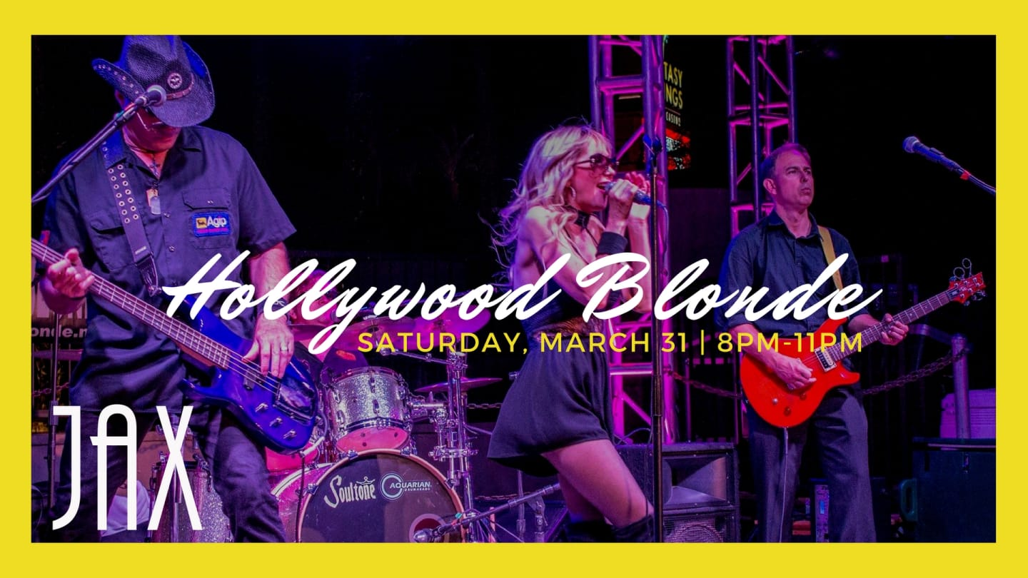 March 31 | HOLLYWOOD BLONDE