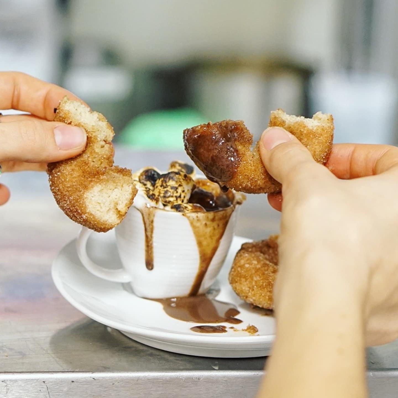 Cocoa & Doughnuts