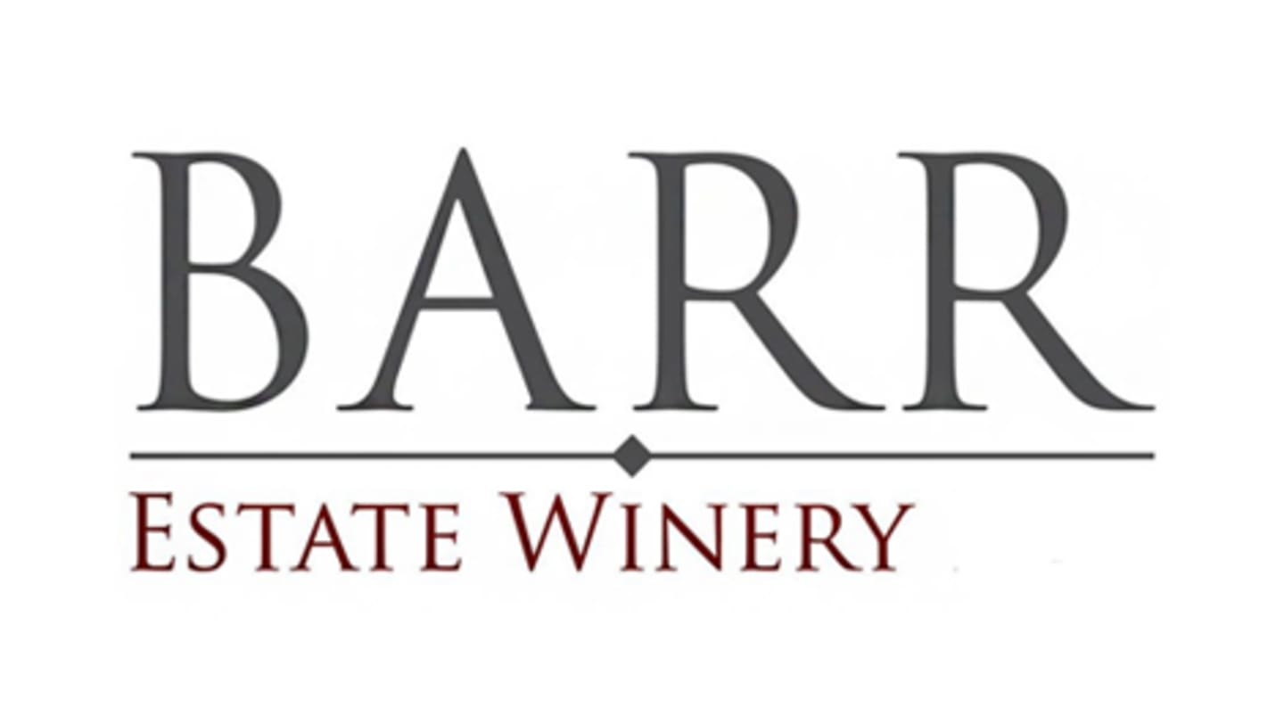 April 20th | Barr Estate Winery Tasting Event