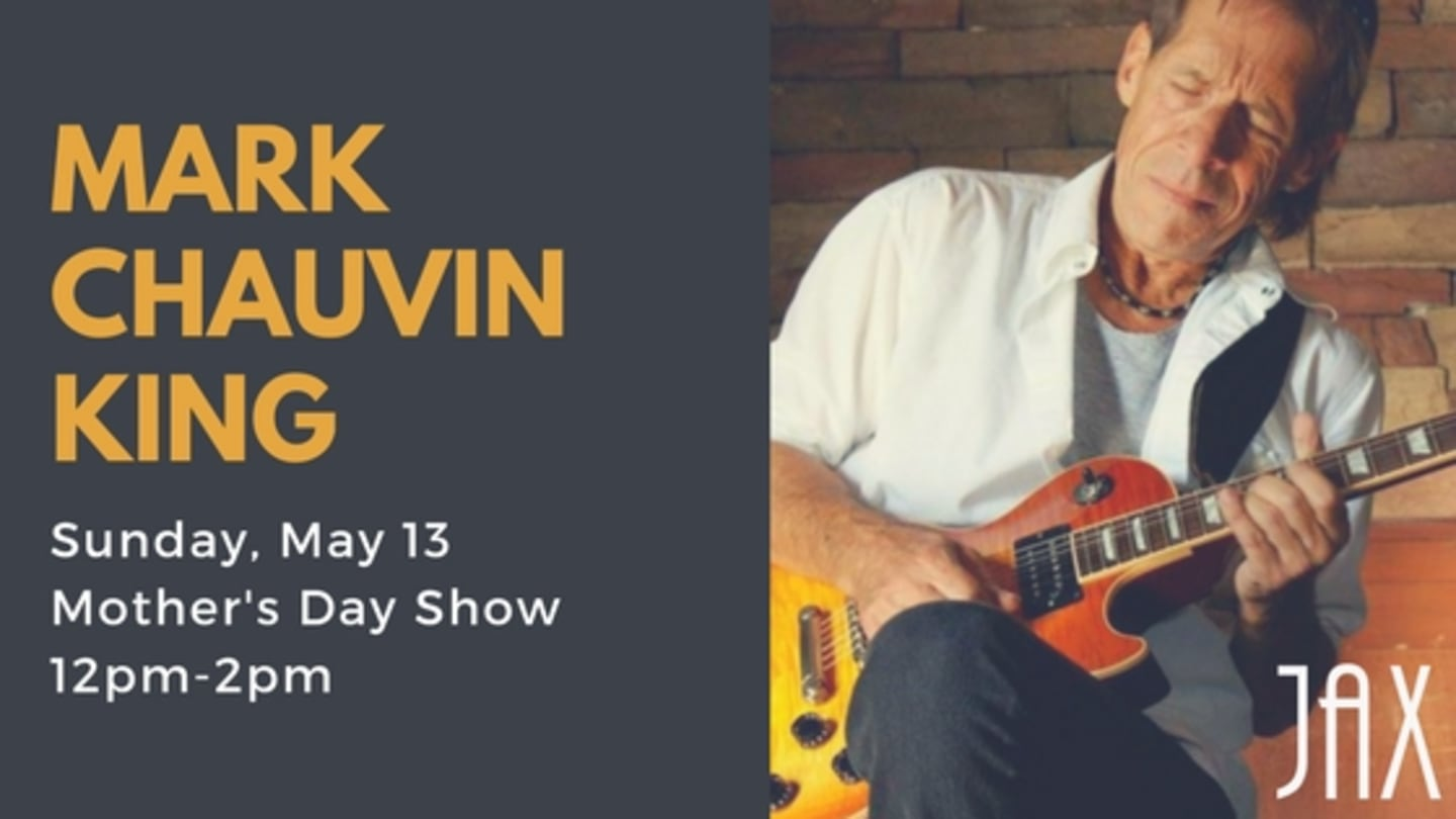 May 13 | MARK CHAUVIN KING
