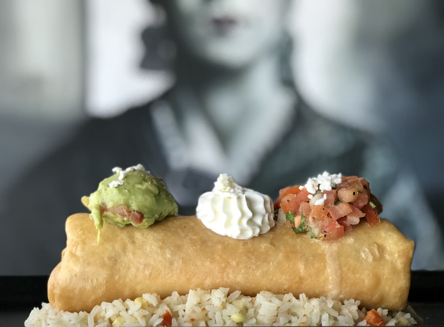 CRISPY CHIMICHANGA