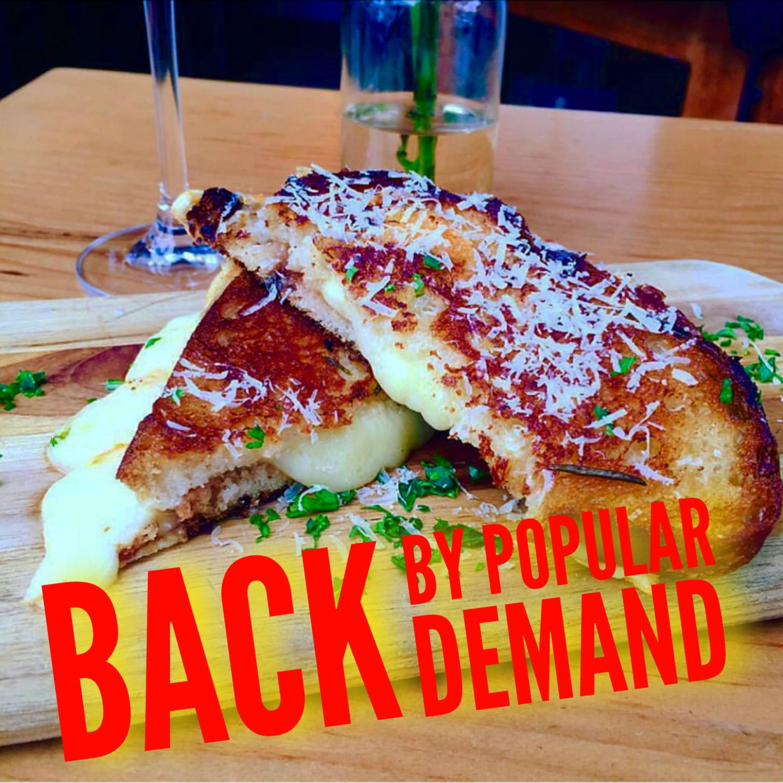 Queso a La Plancha Back By Popular Demand