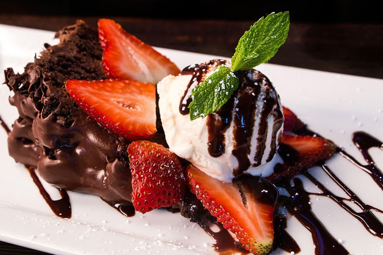 Skipper's Warm Chocolate Layer Cake