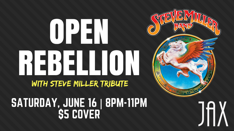 June 16   OPEN REBELLION
