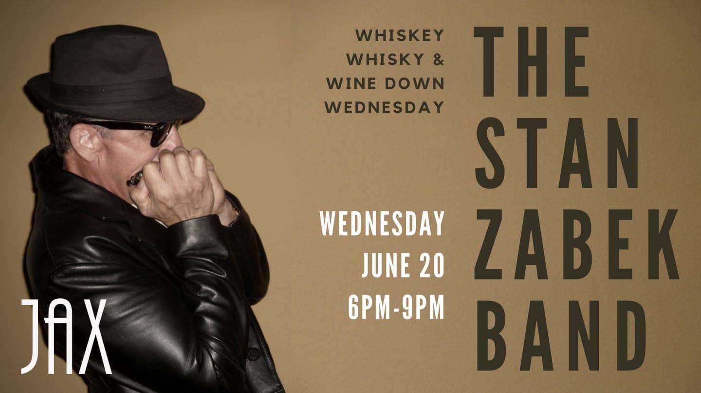 June 20   THE STAN ZABEK BAND