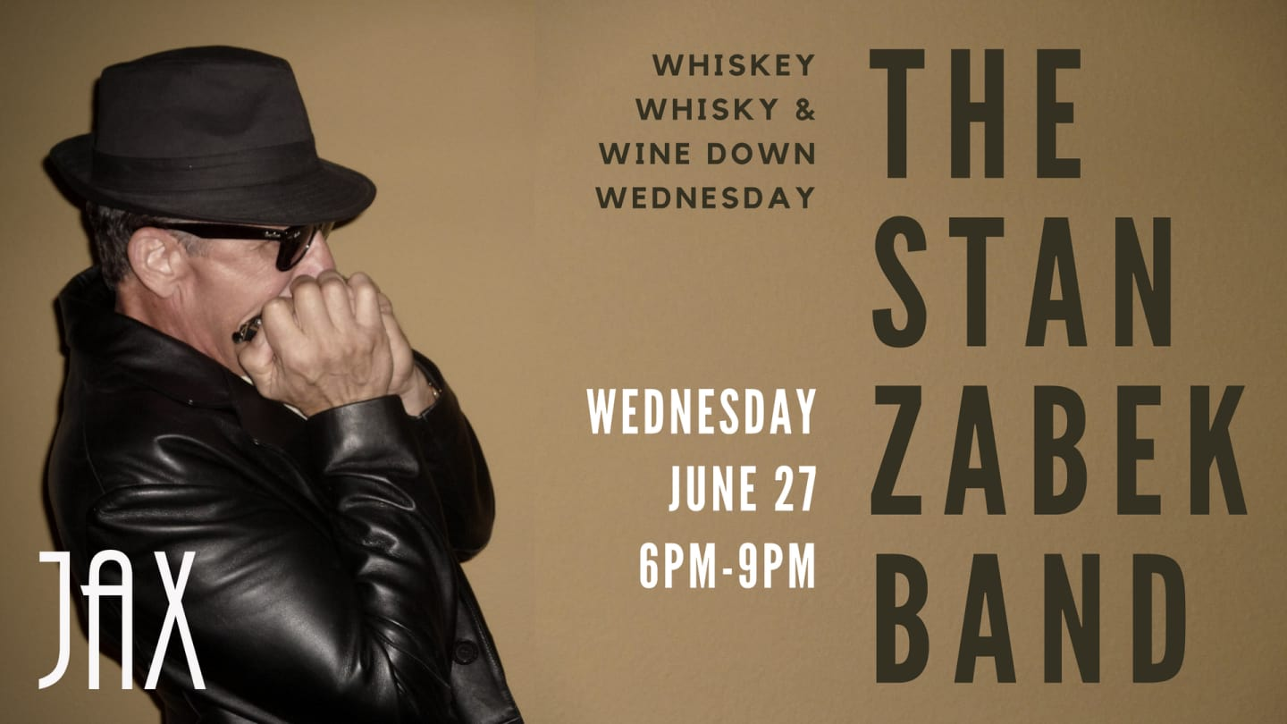 June 27 | BLUES with THE STAN ZABEK BAND