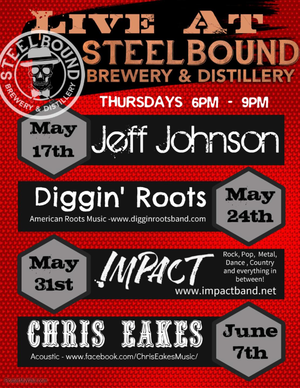 Live! @ Steelbound