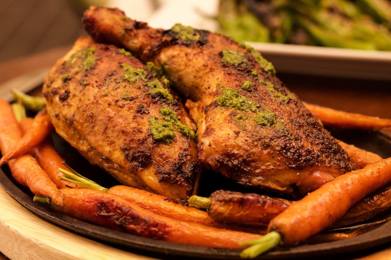 1/2 Roasted Jidori Chicken