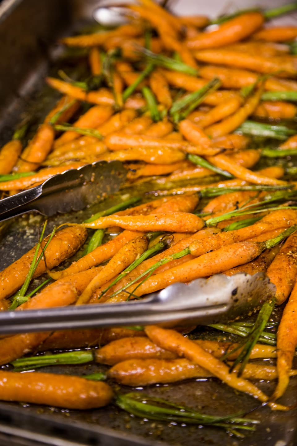 Baby Roasted Summer Carrots