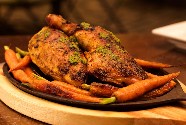 1/2 Roasted Marinated Jidori Chicken