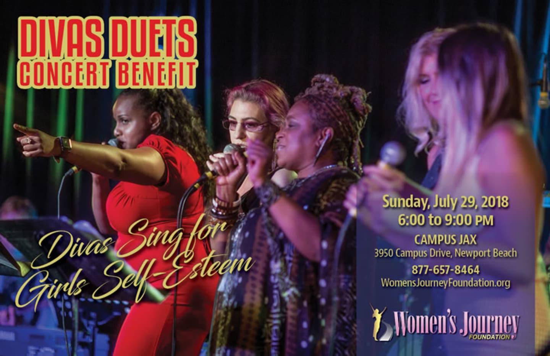 July 29 | DIVAS DUETS - WOMEN'S JOURNEY FOUNDATION FUNDRAISER