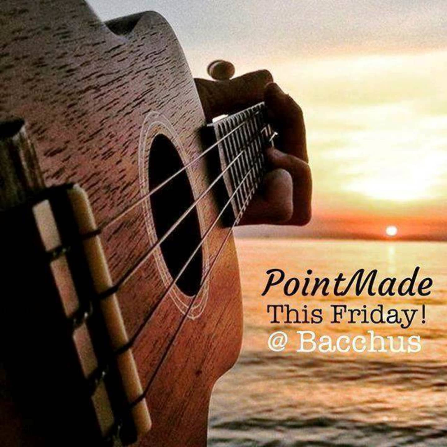 Friday July 20th Live Music with Point Made