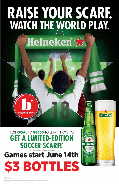 World Cup Quarter Finals with Heineken and Fireball Friday's