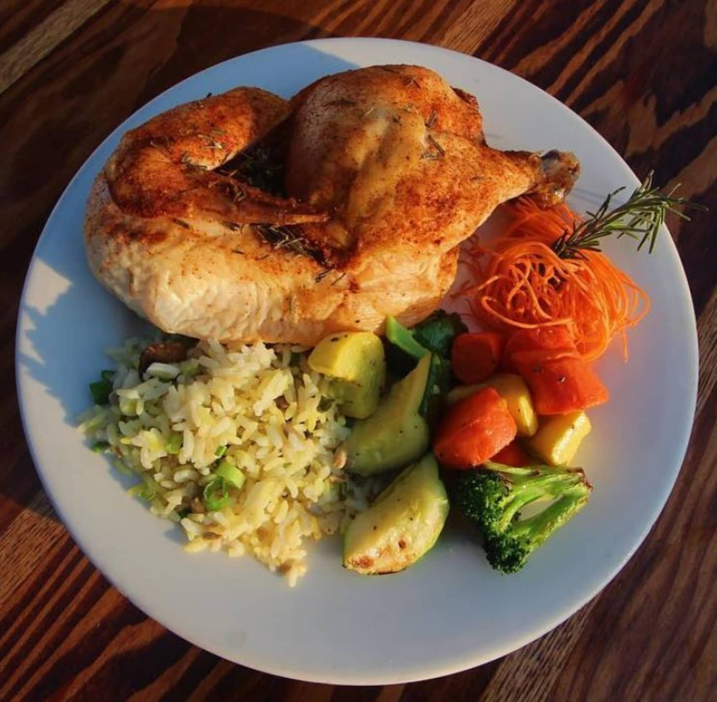Roasted Sunrise Chicken