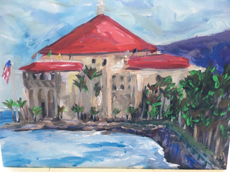 "Tuesday July 31st - Paint and Sip ""Casino - Avalon Catalina Island"""