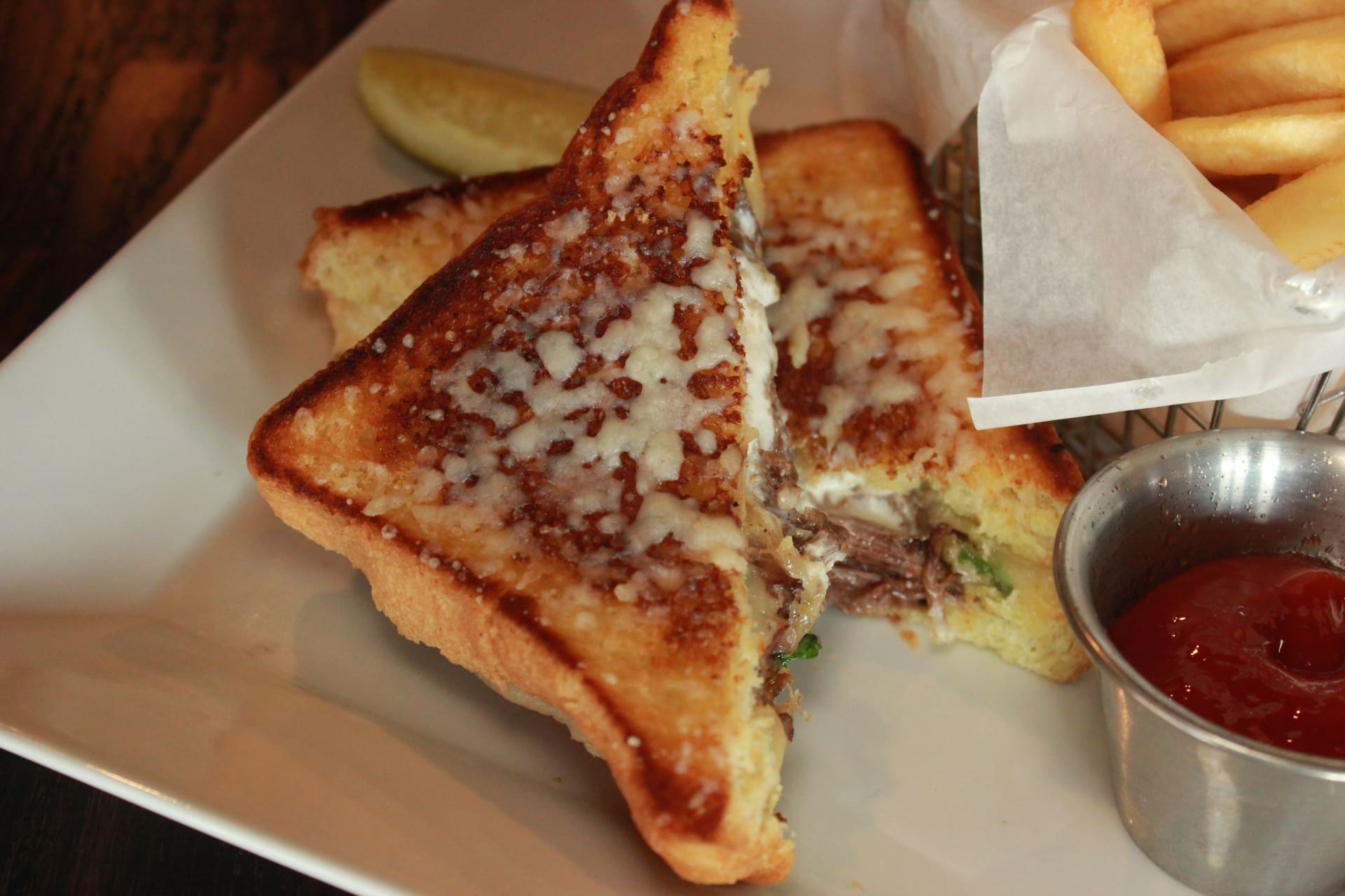 JOANIE'S NEW ORLEANS GRILLED CHEESE