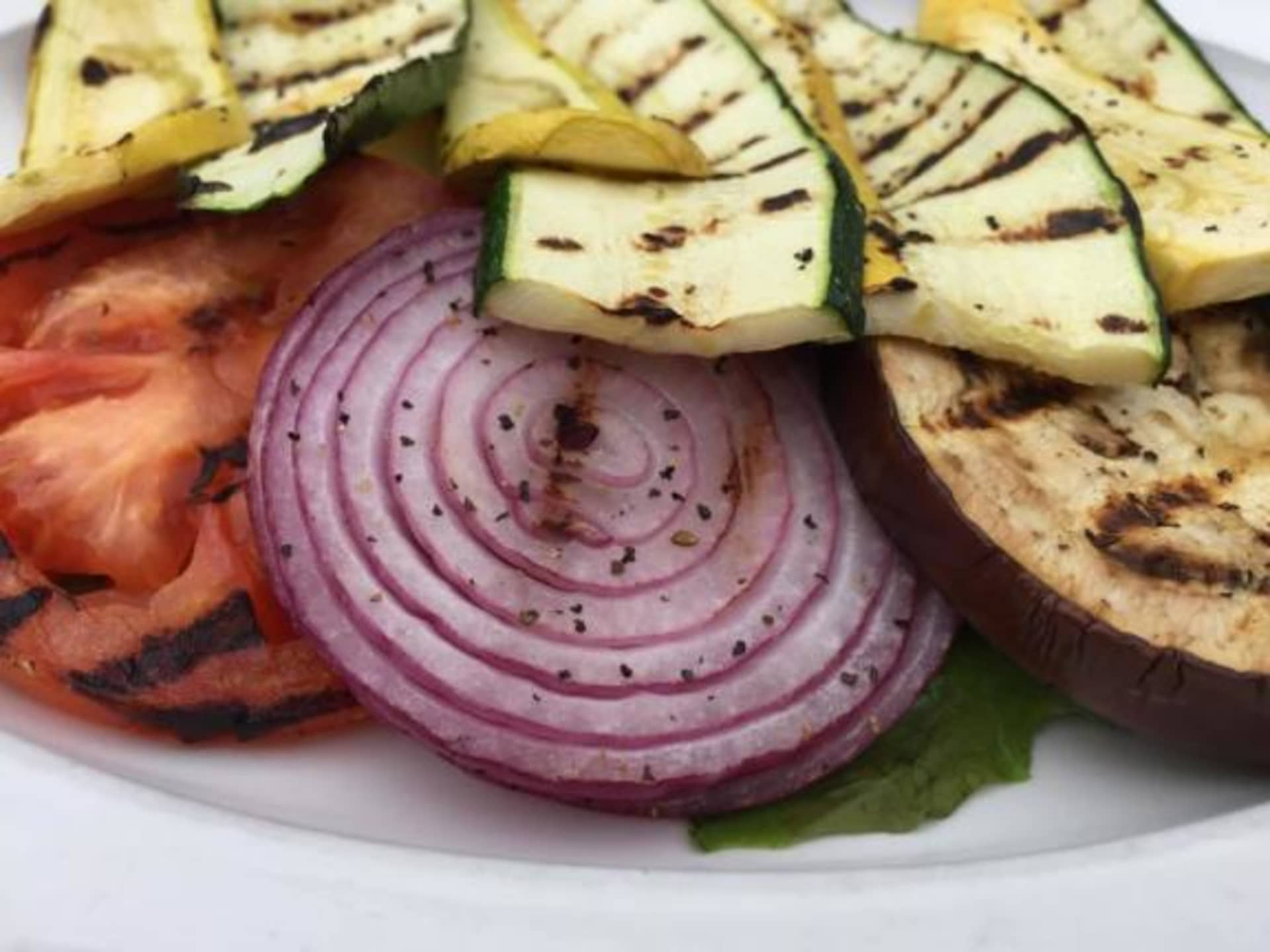 Charbroiled Squash