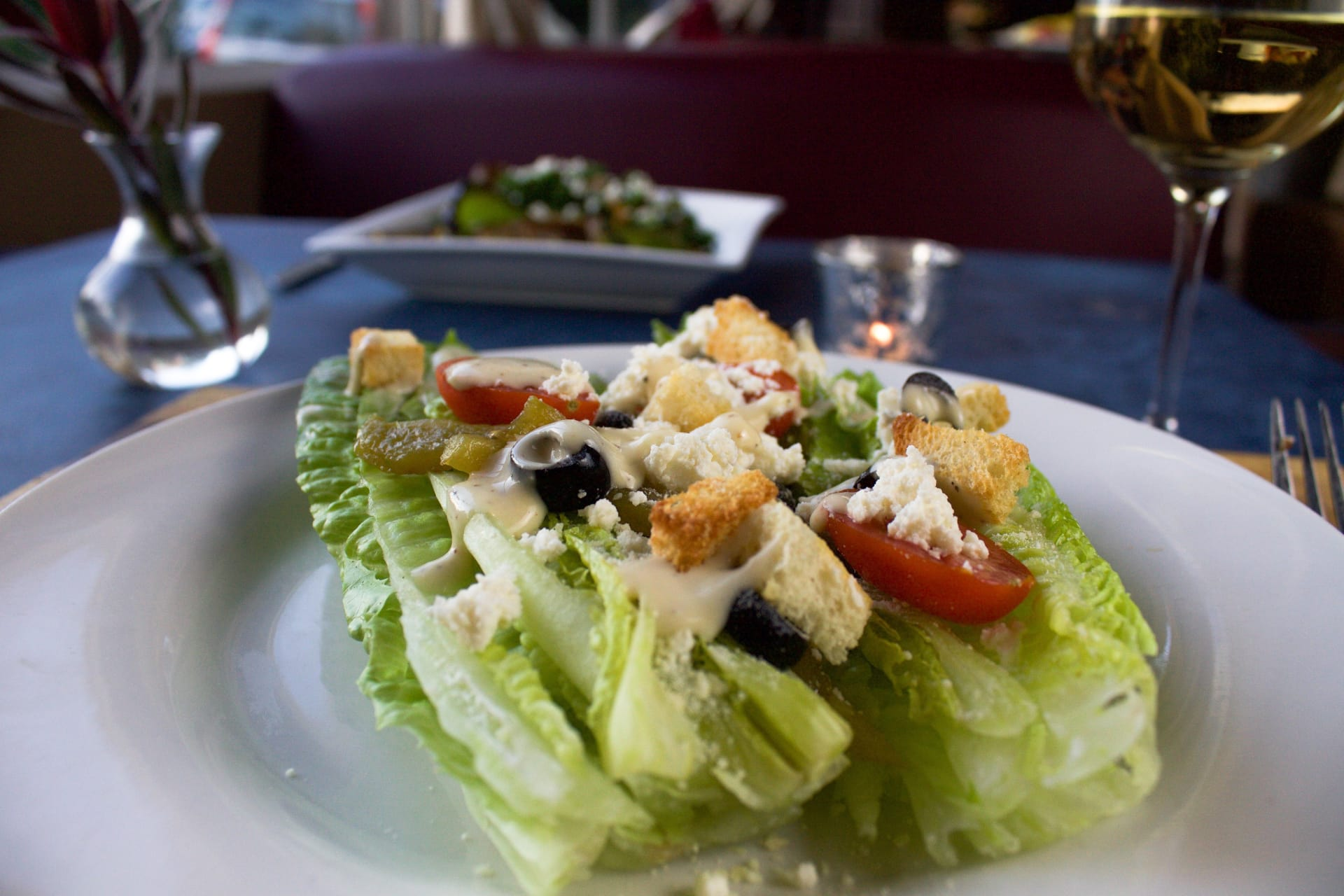 Greek Caesar Salad