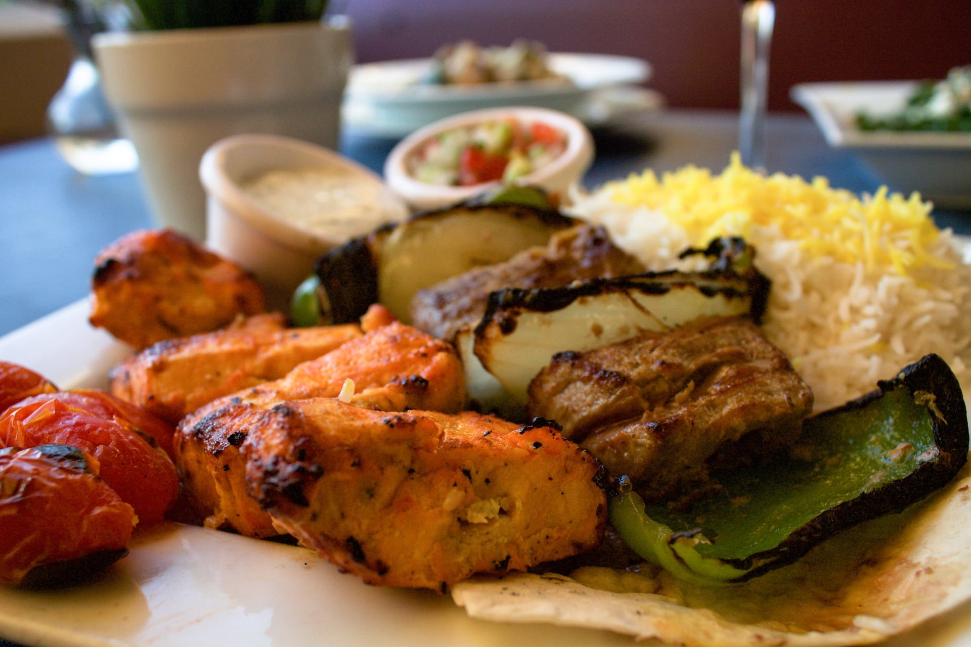 1/2 Filet Shish + 1/2 Chicken Breast
