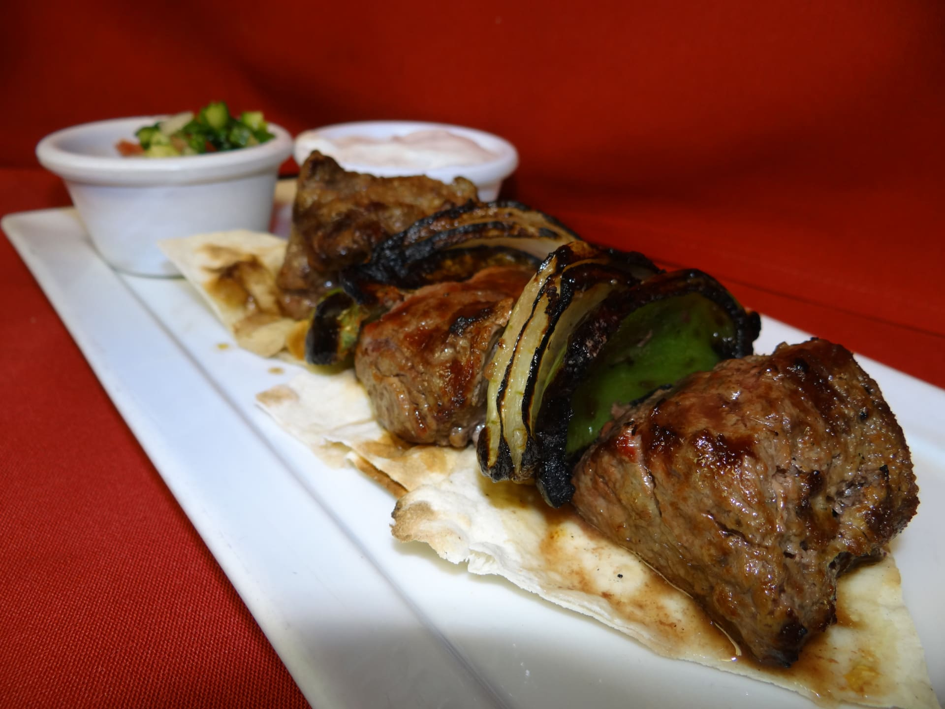 Filet Mignon Kabob Tapa