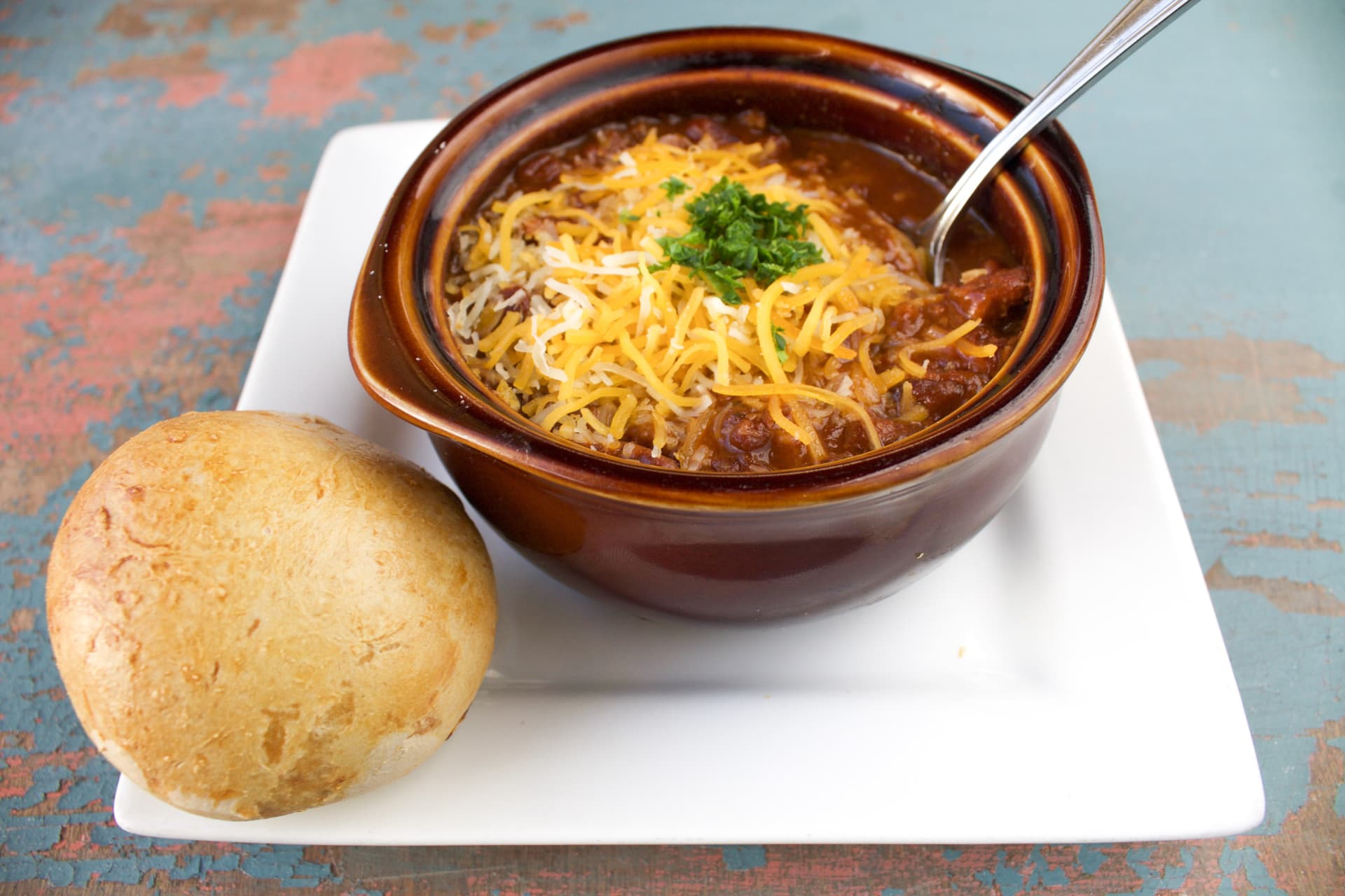 House Chili and Cheese