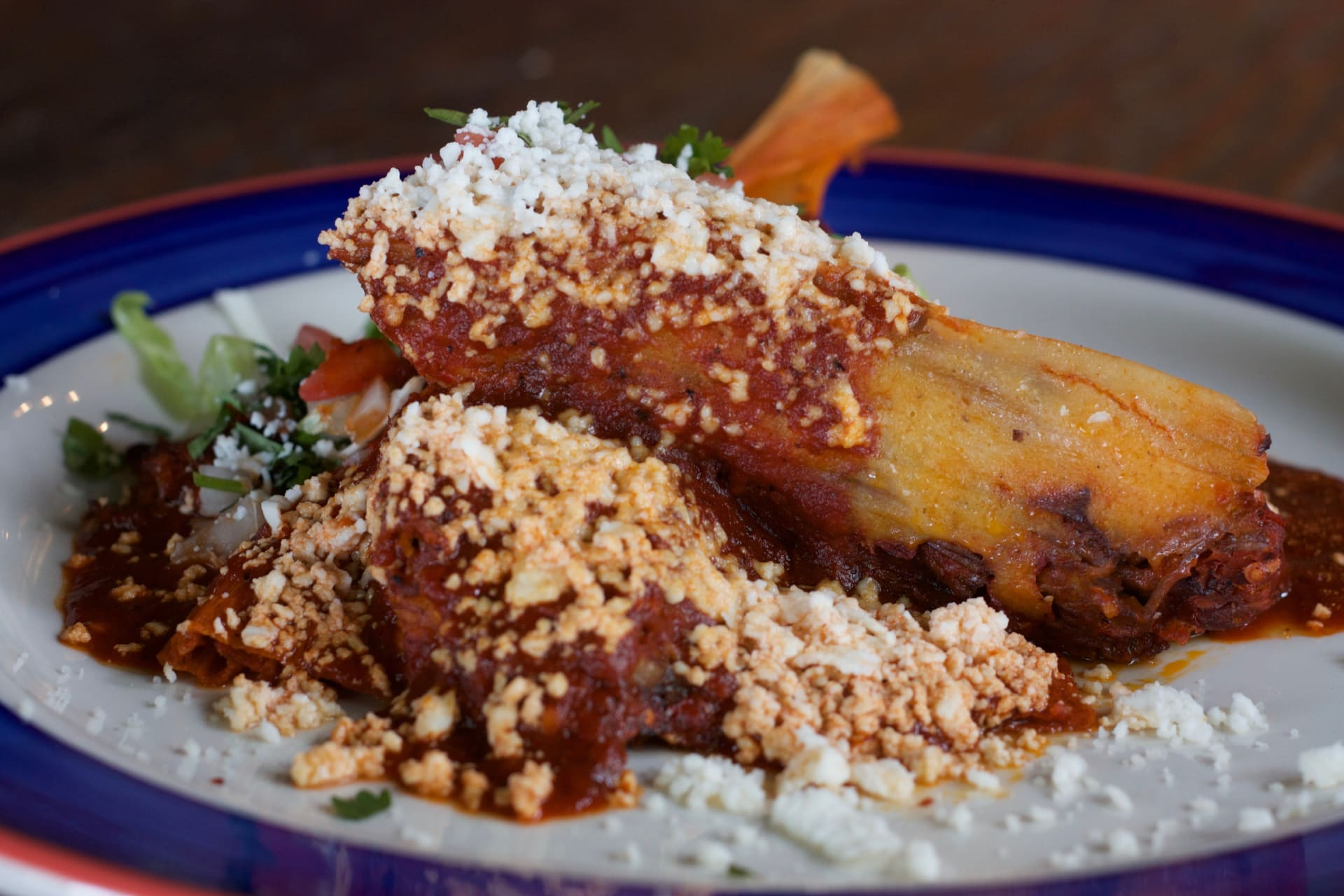 RED CHILE BEEF TAMALES