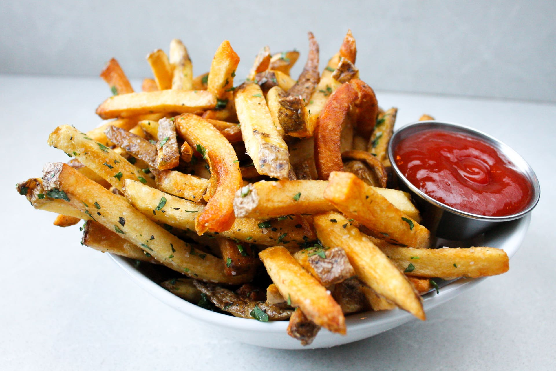 House Cut Herb Fries