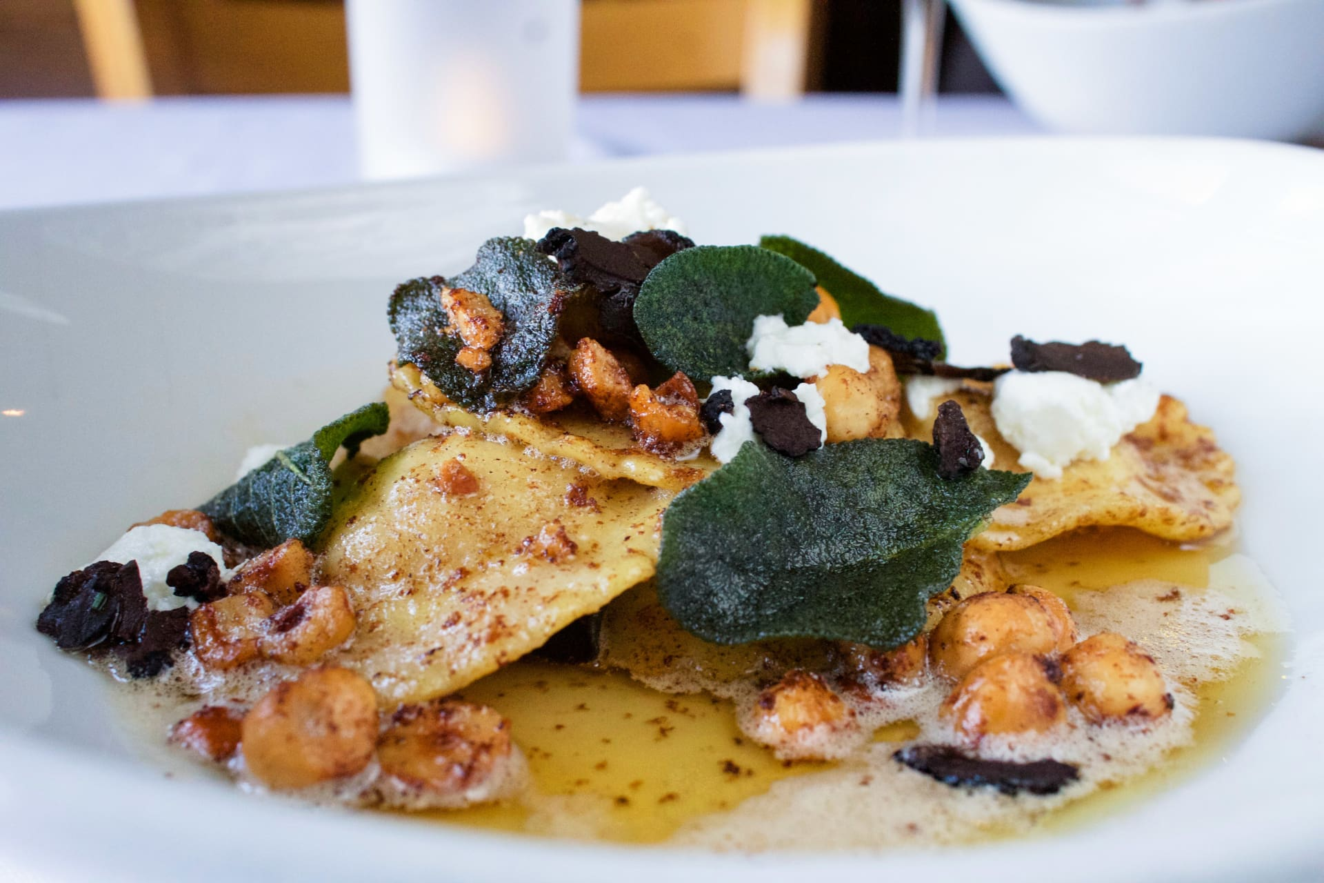 House Made Sugar Pumpkin Ravioli
